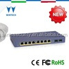 10/100/1000Mbps gigabit switch poe 8 port 2 SFP slots