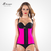 S-SHAPER In Styles Waist Cincher Sexy Lingerie Semi Vest Wholesale Waist Training Corset