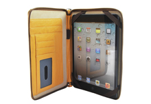 REYON on promotion Business Leather Organizer Leather portfolio case for iPad mini