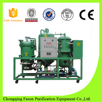 Automatic and saving power used engine oil recycling machine/engine oil treatment