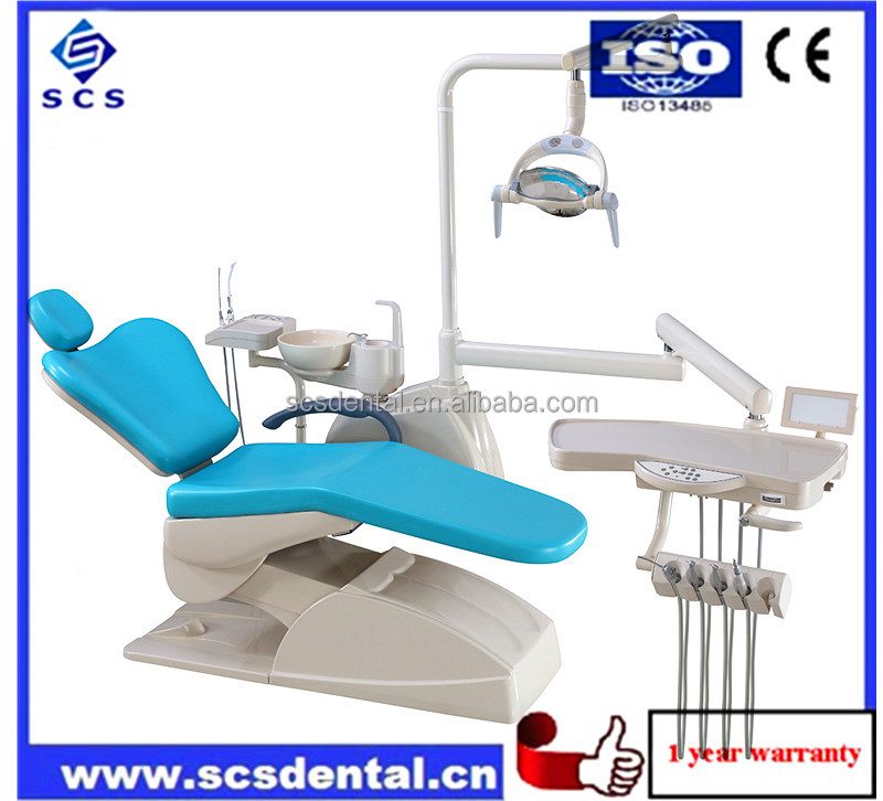 CE/FDA Approval dental chair real leather good price