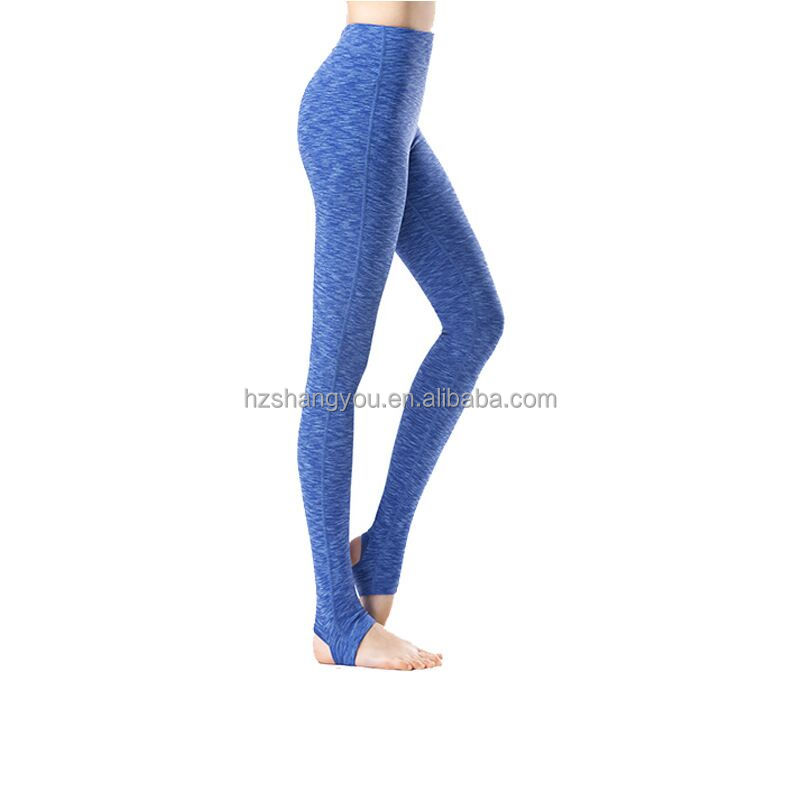 Custom made Long foot pant dancing yoga leggings womens soft wicking workout trainning gym tights