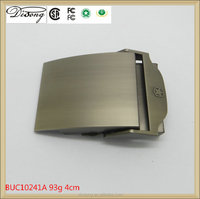 BUC10241 Laser logo textile fabric belt buckle blanks wholesale,custom leather belt buckle manufacturers