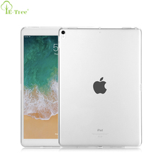 Transparent Clear Soft TPU Silicone Bumper Tablet Cover Case for iPad Pro 10.5 inch 2017