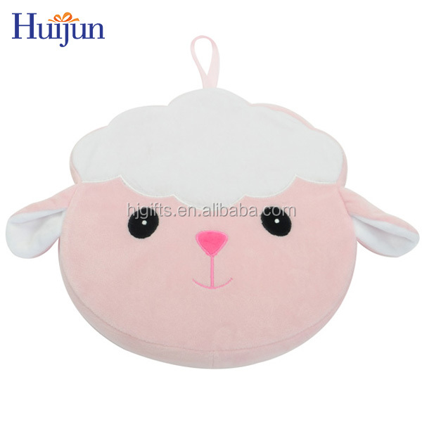 Wholesale Sheep Car Seat Cushion Cover,Baby Round Shape Cushion Cover