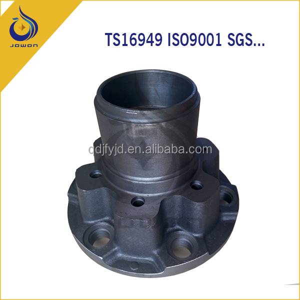 agricultural machinery spare parts iron casting with TS16949
