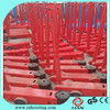20T/50T High Lift Hydraulic Long Trolley Jack Garage Jack Long Floor Jack