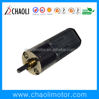 new 3.0V and 6.0V lock geared motor CL-G12-FN30 with spur gear and low noise -chaoli2016