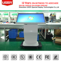 china manufacturer Alibaba Hot Sale Factory custom wall mounted touch screen kiosk
