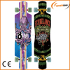 wholesale longboard skateboards with octopus and snake design