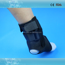 metal bars padded ankle protector ankle brace for fracture ankle immobilization