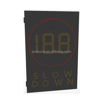 Moveable Vehicle Activated Signs vehicle activated signs speed limit sign board