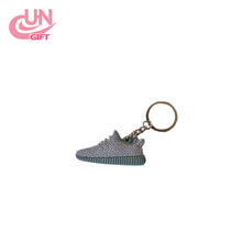 HOT&NEW Style Silicone Keychain Sneaker Key Chain