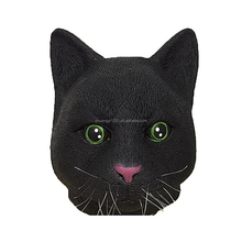 Funny Halloween Party Costome Full Animal Soft Latex Cats Head Mask