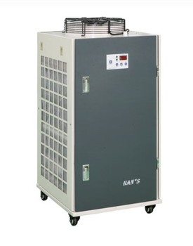Han's Industrial air cooled water chiller double-temperature for 2KW fiber laser source