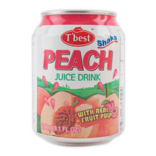 T'best Fruit Juice Drink with pulp_238ml_Peach