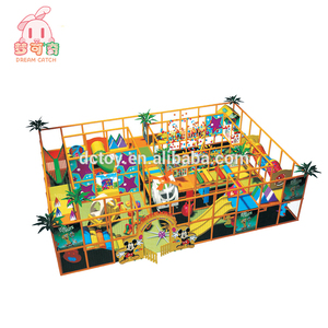 Top Sell kids plastic castle digital playground model component for sale