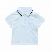2018 Hot Sale White Polo Baby T-shirt