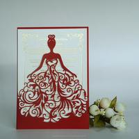 China supplier modern design 3d printing wedding invitation card 3d wedding card of buddhist