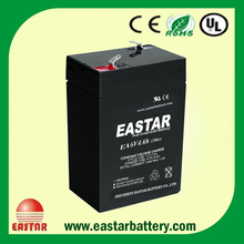 2016 New 6v 4ah 20hr UPS rechargeable sealed lead acid battery for emergency lights, solar system