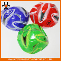 Customized rubber/pvc/tpr promotional soccer ball