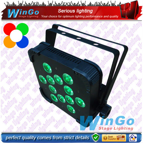 4 in 1 RGBW mini LED par / RGBA LED flat par light / 10w rgbw led par light
