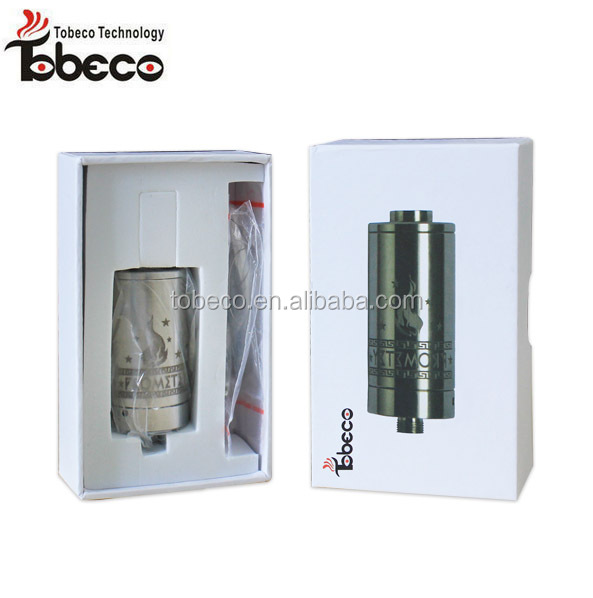 Tobeco stainless Prometey tank atomizer with 21mm diameter 510 thread