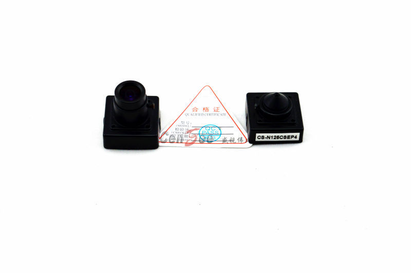 2017 Hot Selling 3.7mm Pinhole Lens Size 25x25mm 420tvl Sony Color CCD Hidden Miniature Camera