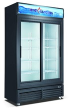 800L sliding door upright cold drink fridge LGF-800S