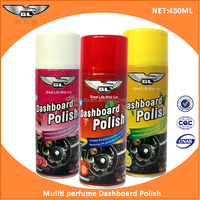 450ml dashboard polish /dashboard silicone spray/car leather wax