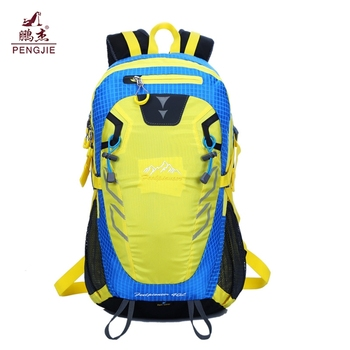 Fashion Large capacity 40l mountaineering bag Sport outdoor camping hiking backpack waterproof