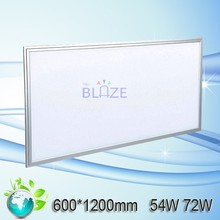 Ceiling Flat Panel Lighting 600x1200 2x4 72W LED Panel