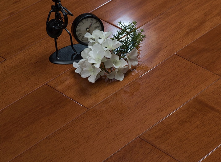 Factory direct price solid wood flooring Taun/oak/teak/walnut/merbau/ebony hardwood flooring 18mm thickness