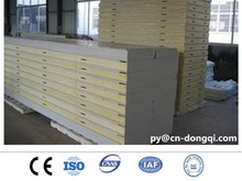 Insulation PU sandwich panels for cold room or prefab house