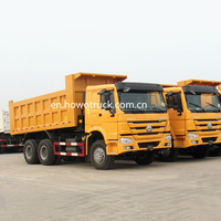 Sinotruk HOWO Dump Truck 6X4 ZZ3257N3447A1 competitive price