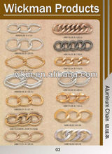 brass meta chain for handbags