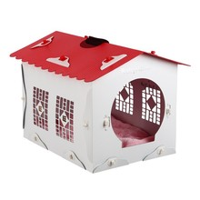 Indoor Outdoor Small to Medium Pet All Weather Puppy Cats Dogs House