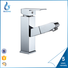 Bathroom faucet pull out 2 Functions Spray Basin Mixer Tap