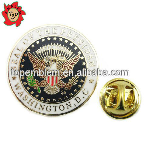 USA seal of the presiden military lapel pins