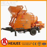 Factory price high quality mobile concrete mixer pump for sale in uae