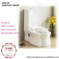 8036 Dual-purpose closestool ceramic squatting pan toilet design
