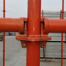 Four-way Ring System Scaffolding