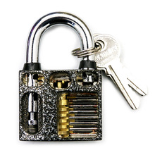 Practice Lock Pick Set, Practice Padlock Locksmith Supplies Tool Wholesale