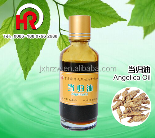 Plant Extract Small Glass bottle Packing herb angelica Blended Origin