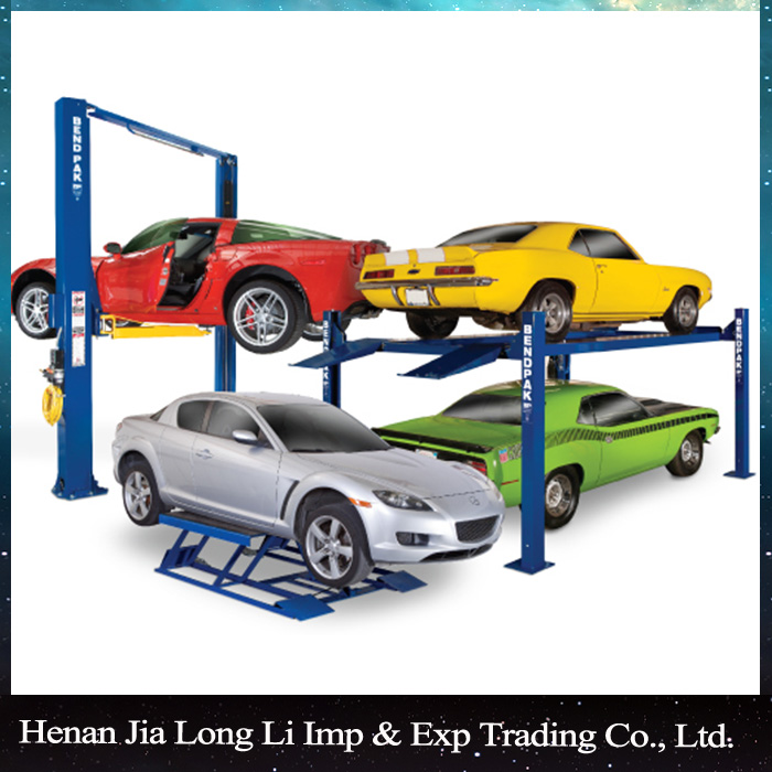 Two Post Auto Hoist Used Powerful Car Lift For Sale