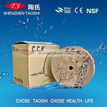 CCK 1/4'' pe water tube connect the water filter fittings for drinking water