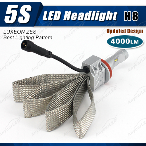 4000lm 5S h8 auto car led toyota yaris hilux revo mark 2 headlight