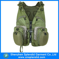 fishing garment men's outdoor fishing clothing multi-pocket fishing vests for men