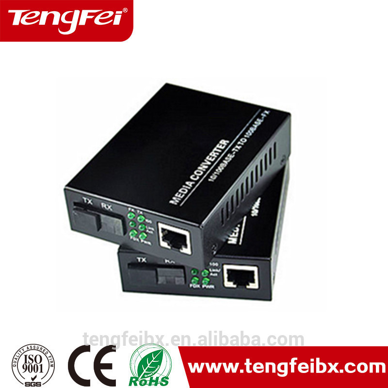 10/100M 20KM factory direct fibre e1 to fiber to rj45 optical converter