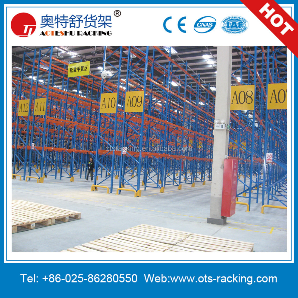 Multi-Level Industrial Warehouse Storage Heavy Duty Pallet <strong>Rack</strong>